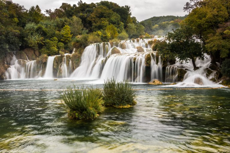 Kroatien - Vattenfallen i Krka Nationalpark