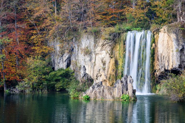 Plitvici Nationalpark i Kroatien