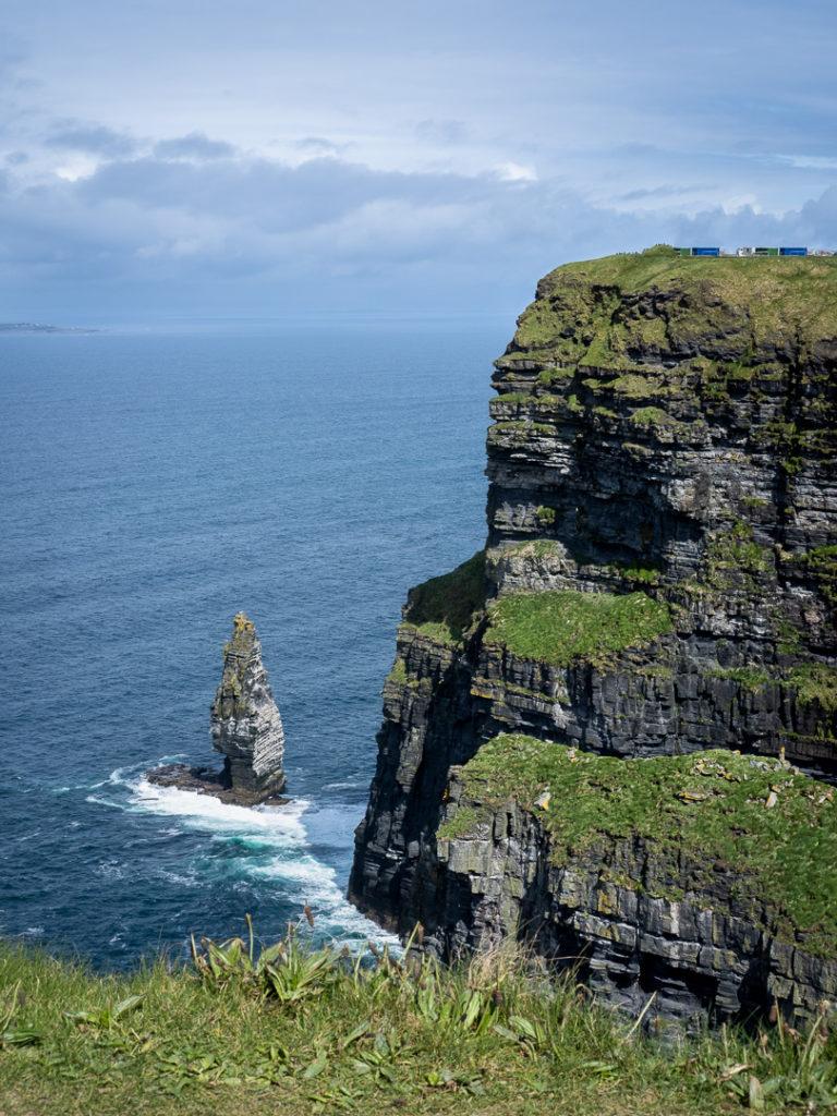 En till bild från Cliffs of Moher på Irlands västkust...