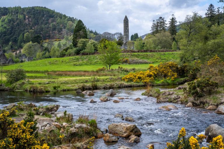 Glendalough på Irland...